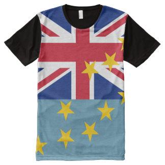 Tuvalu Flag All-Over Print T-shirt