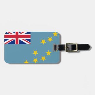 Tuvalu Flag Bag Tag