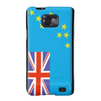 Tuvalu Flag Samsung Galaxy SII Cases