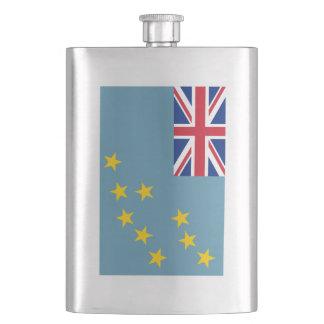 Tuvalu Flag Hip Flask
