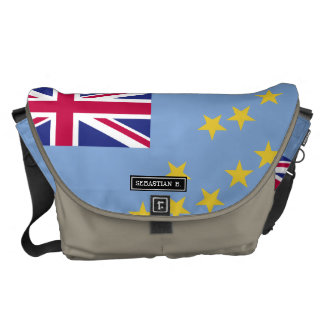 Tuvalu Flag Messenger Bag