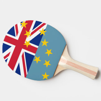 Tuvalu Flag Ping Pong Paddle