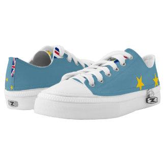 TUVALU FLAG --.png Low-Top Sneakers