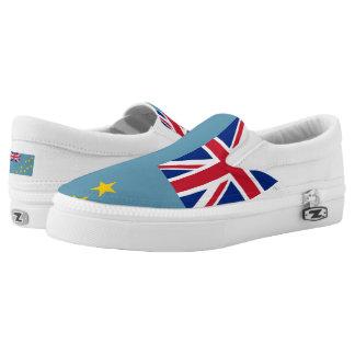 TUVALU FLAG --.png Slip-On Sneakers