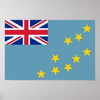 Tuvalu Flag Poster