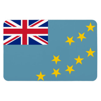 Tuvalu Flag Rectangular Photo Magnet