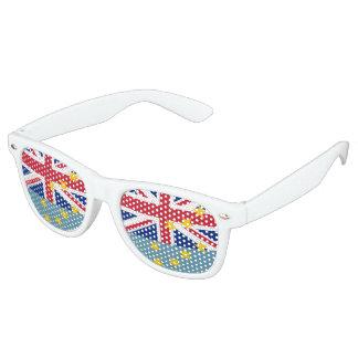 Tuvalu Flag Retro Sunglasses