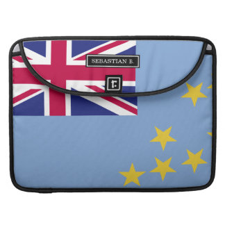 Tuvalu Flag Sleeve For MacBooks
