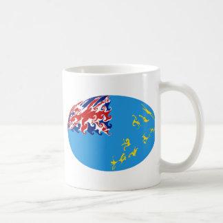 Tuvalu Gnarly Flag Mug