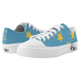 Tuvalu Low-Top Sneakers
