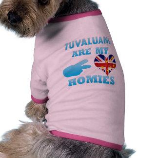 Tuvaluans are my Homies Doggie Shirt