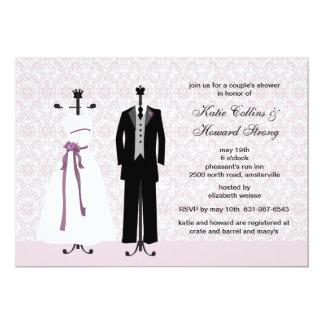 Formal attire invitations announcements zazzle tux and gown invitation stopboris Image collections