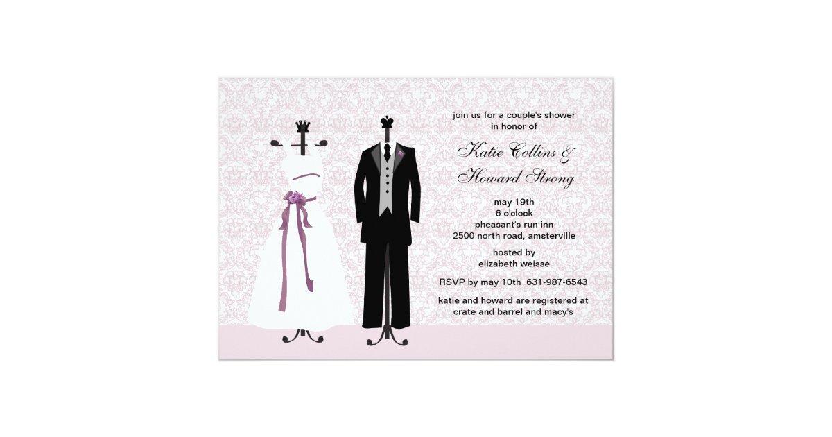 Tux and Gown Invitation | Zazzle.com