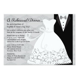 Tux and Gown Invitation