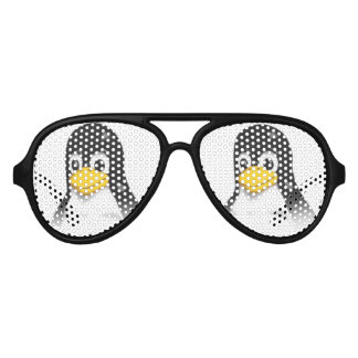Tux Bust Aviator Sunglasses