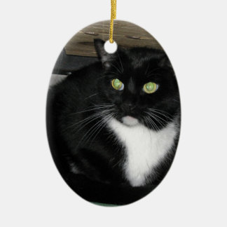 Tux Ceramic Ornament