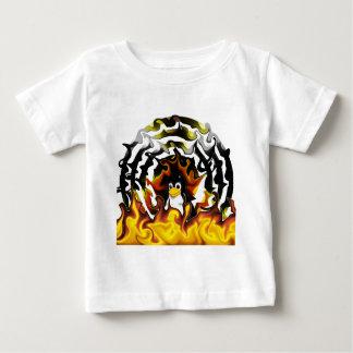 TUX Fire Target Baby T-Shirt