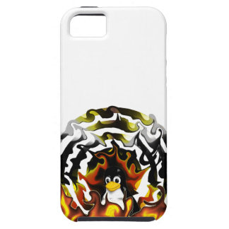 TUX Fire Target iPhone SE/5/5s Case