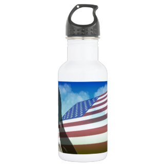TUX Flag Stainless Steel Water Bottle