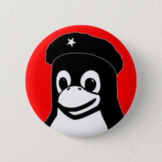 Tux Guevara Button