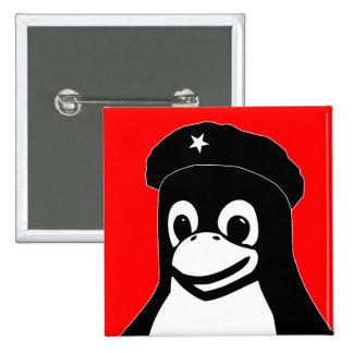 Tux Guevara - Customized Pinback Buttons