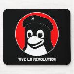 Tux Guevara (oscuro), la Révolution de Vive Tapetes De Ratones