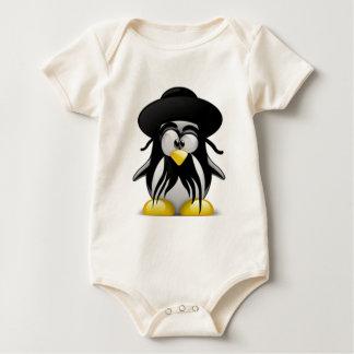 Tux judío (Linux Tux) Body Para Bebé