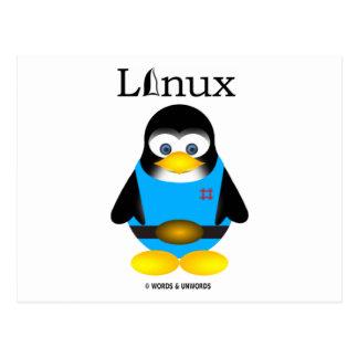 Tux (Linux) Postales