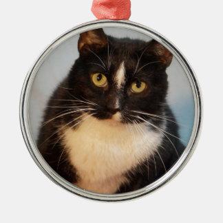 Tux Metal Ornament
