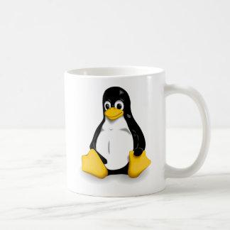 Tux Classic White Coffee Mug