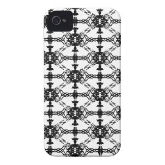 tux pattern iPhone 4 cases