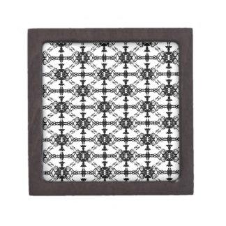tux pattern gift box