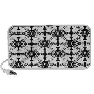 tux pattern speaker system
