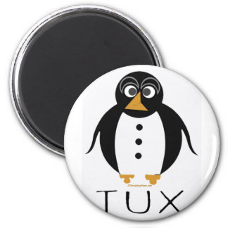 TUX PLAIN REFRIGERATOR MAGNET