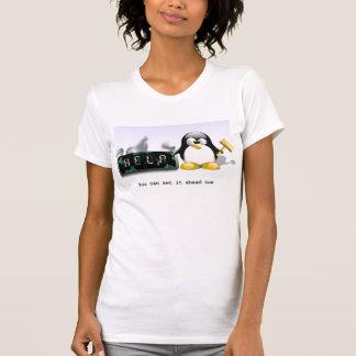 Tux-smash-clock Shirt
