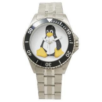 Tux the Linux Penguin Wrist Watch