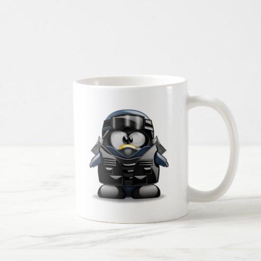 Tux Tux Classic White Coffee Mug