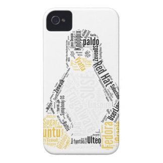 Tux Typo iPhone 4 Case-Mate Case