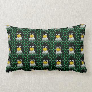 Tux verde Truchet Cojín