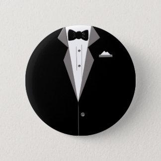 Tuxedo Art Button