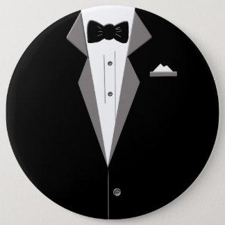 Tuxedo Art Clossal Badge Pinback Button