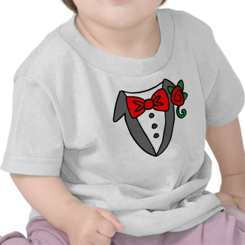 Tuxedo baby/toddler t-shirt shirt