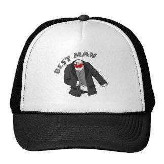 Tuxedo Best Man Trucker Hat