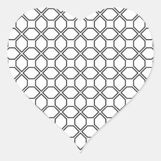 Tuxedo Black and White Pring PT 1 Heart Sticker