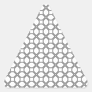 Tuxedo Black and White Pring PT 1 Triangle Sticker