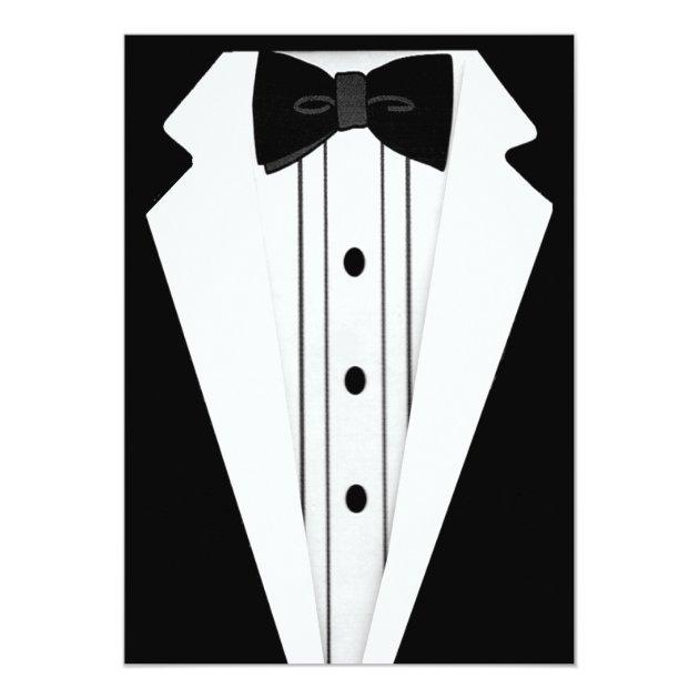 black tie event invite erieairfair