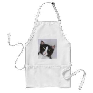 Tuxedo Cat Adult Apron