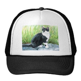 Tuxedo Cat Cap Trucker Hat