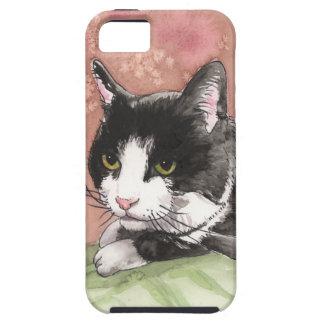 Tuxedo Cat iPhone 5 Covers