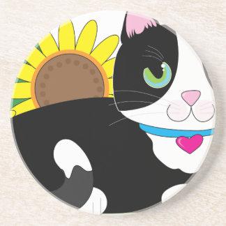 Tuxedo Cat Coaster